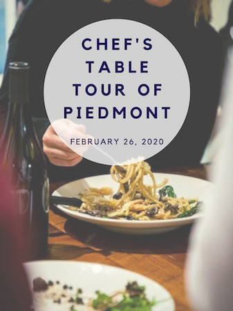 Chef's Table Tour of Piedmont